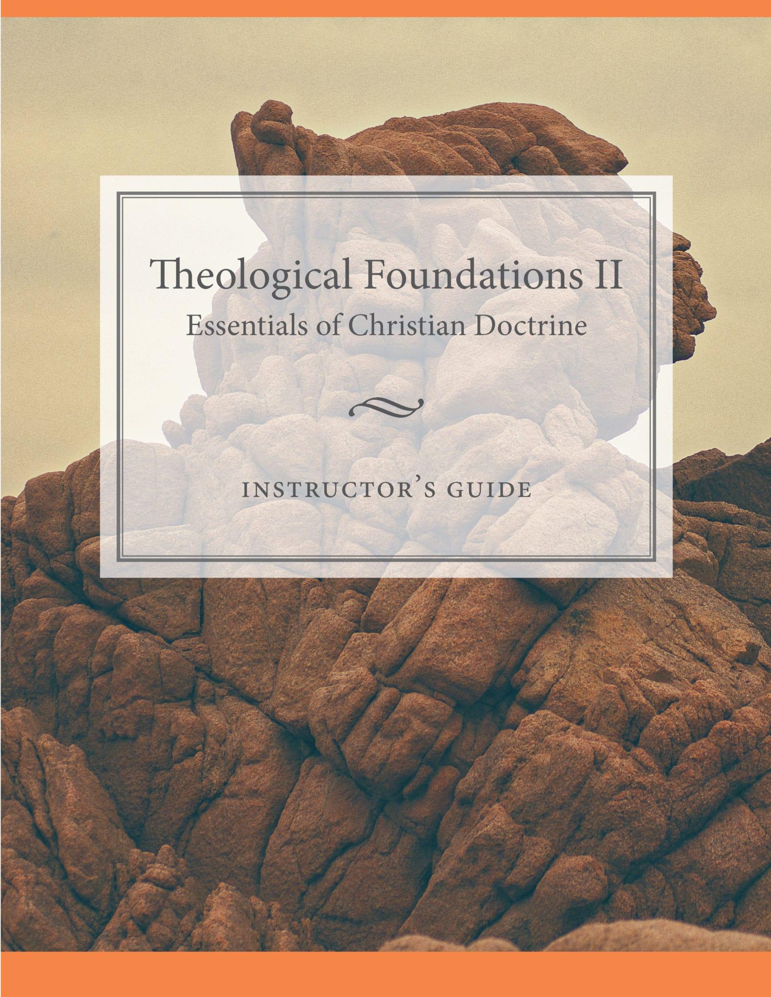 Theological Foundations 2: PDF Download - Bethlehem College